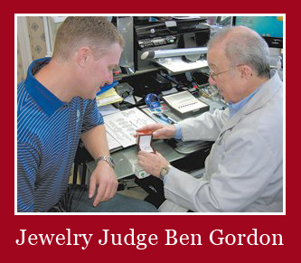 Jewelry Judge Ben Gordon