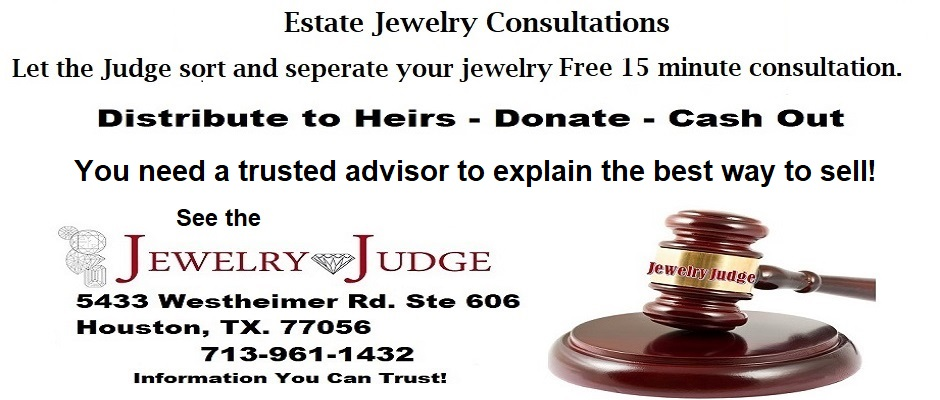 Houston Jewelry Appraiser Estates Jewelry 2021