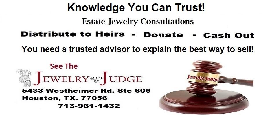Houston Jewelry Appraiser Estates Jewelry 2021