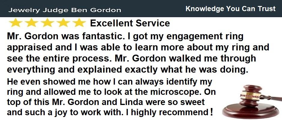 Houston Jewelry Appraiser Jewelry Judge Ben Gordon – 5 Star Review August 2021