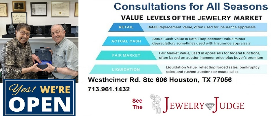 Houston Jewelry Appraiser Jewelry Judge Ben Gordon – Value 2020