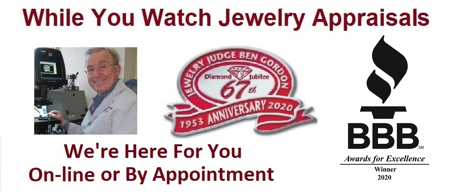 Houston Jewelry Appraiser Jewelry Judge Ben Gordon – We are here for you COVID19