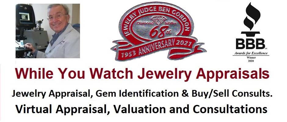 Houston Jewelry Appraiser Jewelry Judge Ben Gordon – While You watch