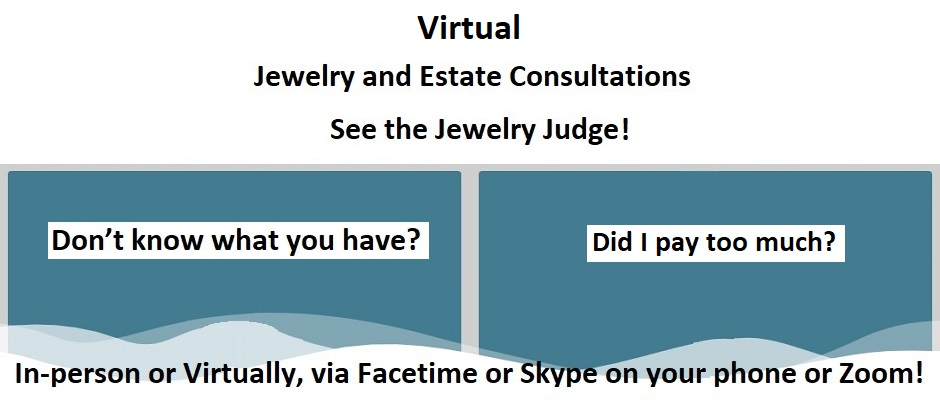 Houston Jewelry Appraiser – Virtual